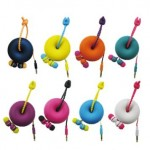 New Style Earphone Donut Snail Alpex
