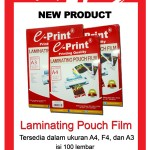 New Product Laminating Pouch Film..